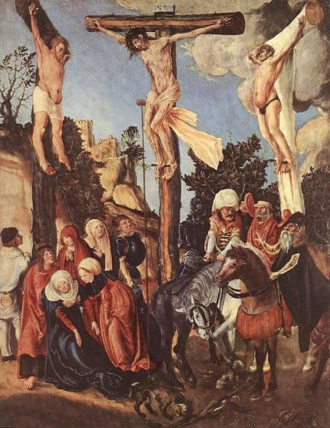 The elder the crucifixion